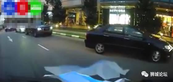 在新加坡,你遇过几个缺德的开车者?